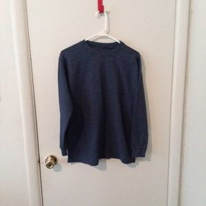 Men's Blue Long Sleeve Thermal